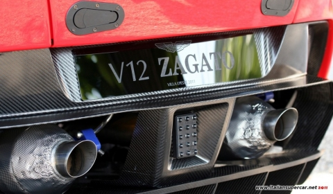 Video Aston Martin V12 Zagato at Villa d'Este 2011