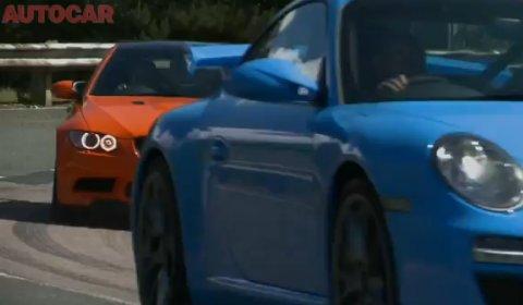 Video AutoCar Reviews BMW M3 GTS VS Porsche 911 GT3