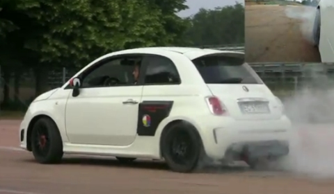 Video Aznom Fiat 500 Motore Centrale Burning Rubber