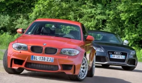 Video BMW 1-Series M Coupe VS Audi TT-RS