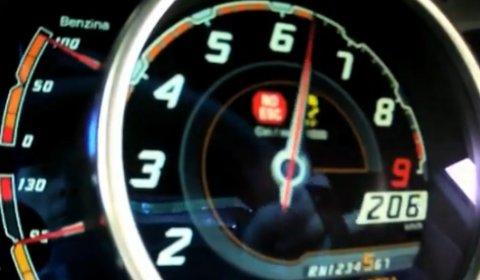 Video Hot Lap Lamborghini Aventador at Vallelunga Race Track
