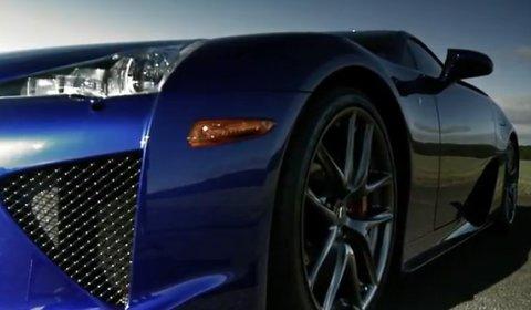 Video Lexus LFA Races on Track with IS-F at Bruntingthorpe
