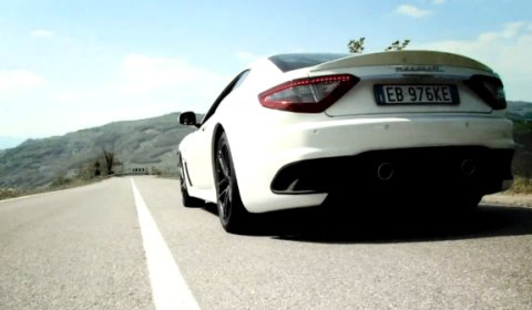 Video Maserati GranTurismo MC Stradale Sound Track