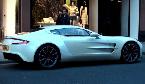 Video Only Rhd Aston Martin One 77 In London