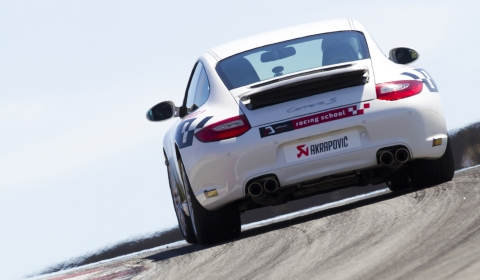 Video: Porsche 911 Carrera S With Akrapovic Exhaust at Portimao Circuit