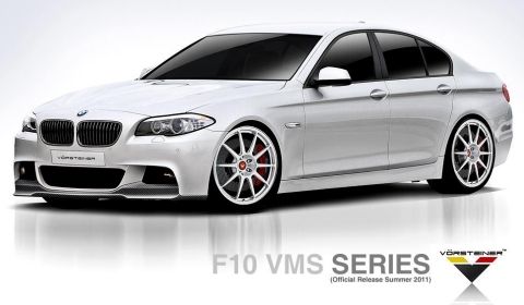 Vorsteiner Previews VMS Styling Package for BMW F10 5-Series