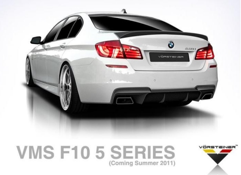 Vorsteiner Previews VMS Styling Package for BMW F10 5-Series 01