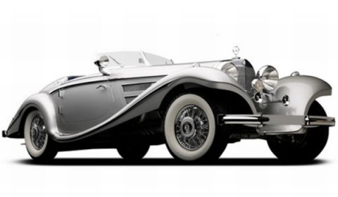 1937 Mercedes-Benz 540K Goes to Auction at Pebble Beach