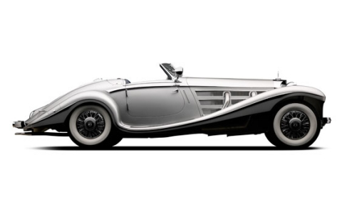 1937 Mercedes-Benz 540K Goes to Auction at Pebble Beach 01