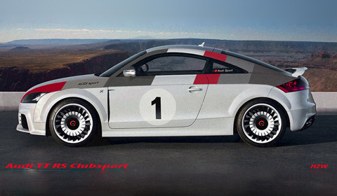 Audi TT-RS Clubsport by HZW Design
