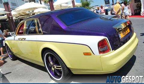 Crazy Rolls-Royce Phantom in Marbella