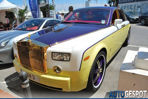 Crazy Rolls-Royce Phantom in Marbella