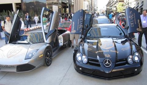 GR3 Start in Denver: Lamborghini Murciélago LP640 & McLaren SLR