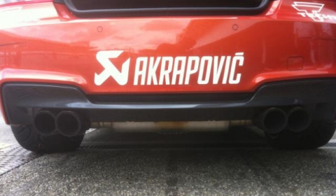 Akrapovic BMW 1-Series M Coupe in Tuner GP