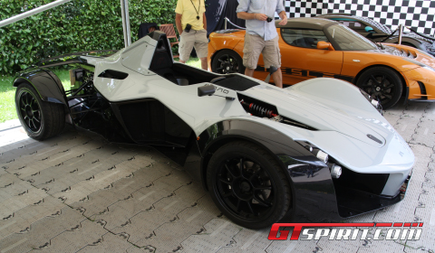 Goodwood 2011 BAC Mono Single-Seat Track-Day Toy
