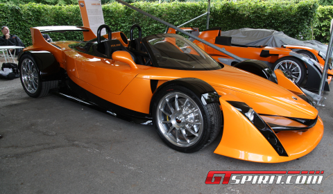 Goodwood 2011 Hulme Canam Spyder Pictures Gallery