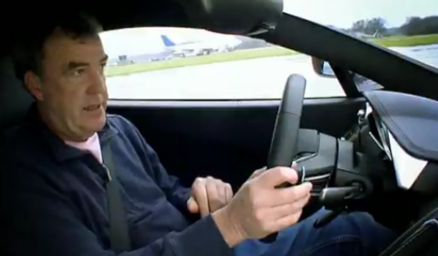Jeremy Clarkson in McLaren MP4-12C