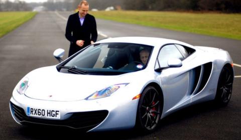McLaren MP4-12C Stars in BBC TV Show 'Made in Britain' Tonight
