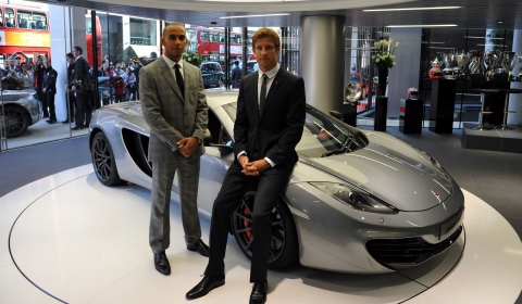 McLaren Opens First Dealership in London
