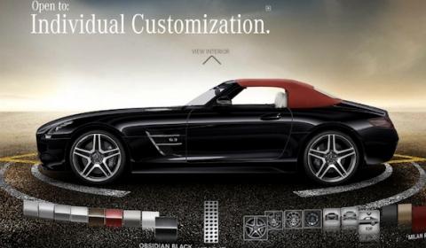 Mercedes-Benz SLS AMG Roadster Online Configurator
