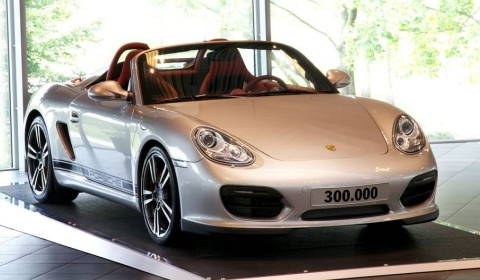 More Than 300,000 Porsche Boxsters and Caymans Built
