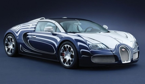 official bugatti veyron grand sport l or blanc gtspirit. Black Bedroom Furniture Sets. Home Design Ideas