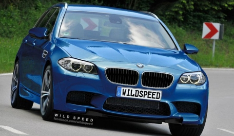 Rendering BMW F11M M5 Touring by Wild-Speed