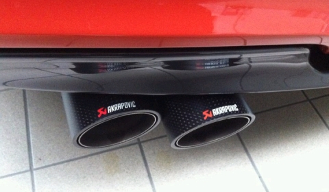Teaser Akrapovic Exhaust for BMW 1-Series M Coupe