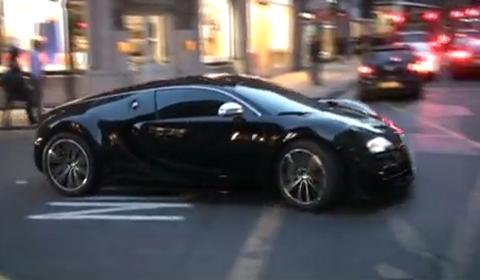 Video Arab Bugatti Veyron Super Sport in London