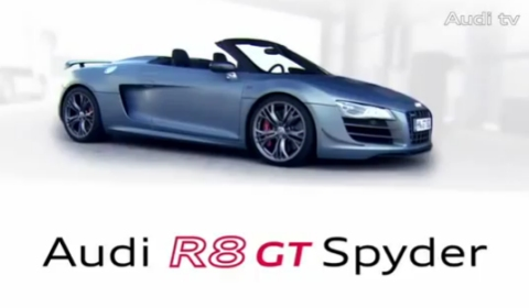 Video Audi R8 GT Spyder Commercial