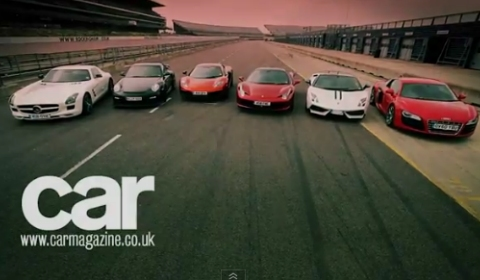 Video CAR Magazine Tests MP4-12C Against Its Rivals