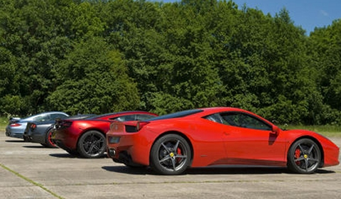 Video EVO Tests McLaren MP4-12C Against Its Toughest Rivals