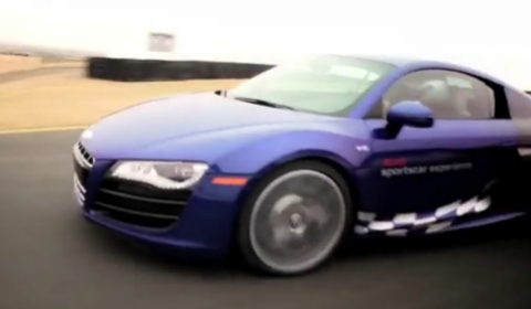 Video Hot Lap at Infineon Raceway in Audi R8 V10