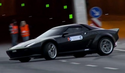 Video New Lancia Stratos at Sachsenrallye 2011