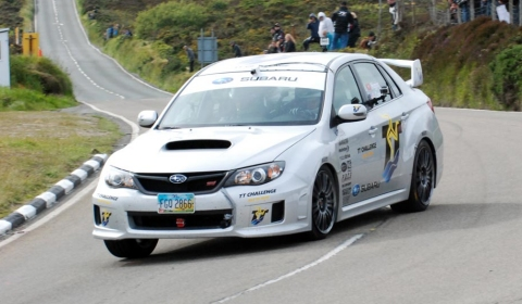 Video Of The Day Subaru Isle of Man TT Record Attempt