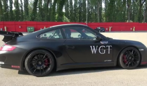 Video Onboard Porsche 997 GT3 RS with X-OST Exhaust