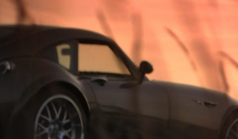 Video Wiesmann Driving and Drifting Footage