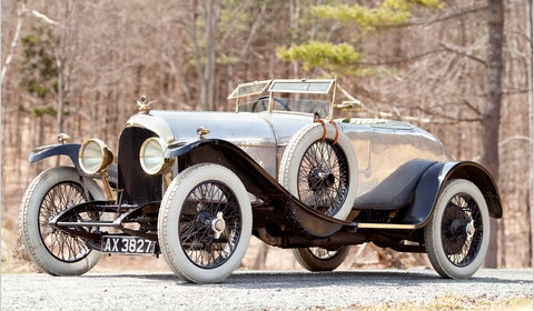 World's First Production Bentley Goes to Auction at Pebble Beach in August