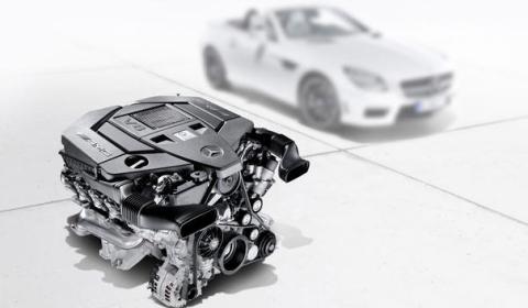 2012 Mercedes-Benz SLK 55 AMG Teaser