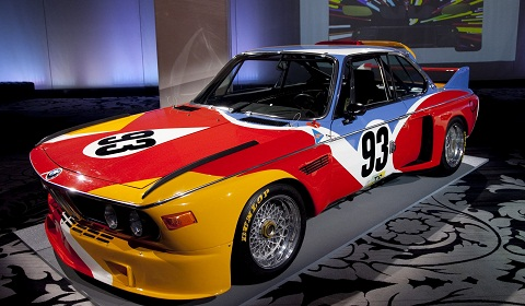 BMW Release Online 'Art Cars' Tour