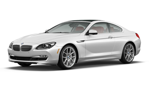BMW Launches 6-Series Coupé Configurator
