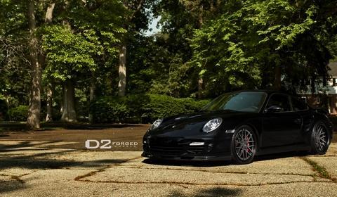 Porsche 997 TT by D2Forged