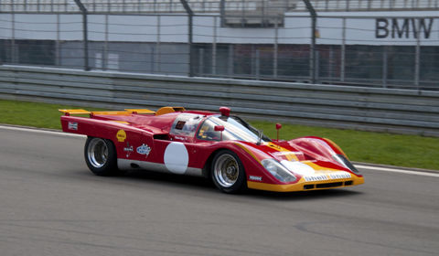 ... cars. One of those cars on the track was the Ferrari 512 M Berlinetta