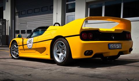 Modena Trackdays 2011: Ferrari F50