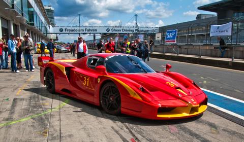Modena Trackdays 2011: Ferrari FXX Evoluzione