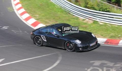 Spyshots: 2012 Porsche 991