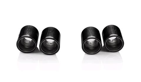 Akrapovic Carbon Fiber Tail Pipes for BMW M3