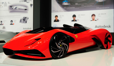 Ferrari World Design Contest Winner