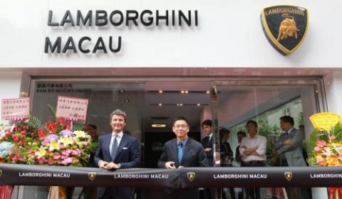 Lamborghini Opens Dealership in Macau