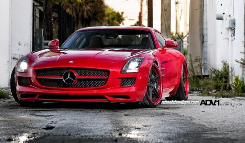 Mercedes-Benz SLS AMG by Wheels Boutique & ADV.1